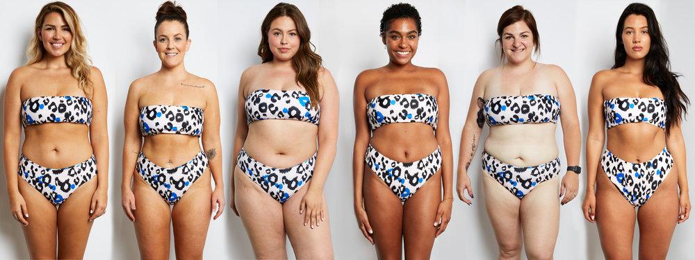 6 Women, 6 Different Shapes, Wearing the Same Size Bikini ...